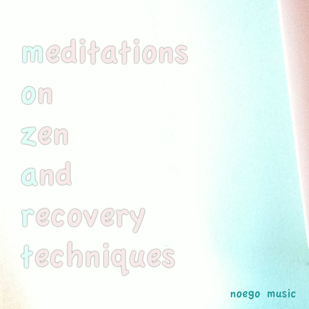 Meditations On Zen And Recovery Techniques